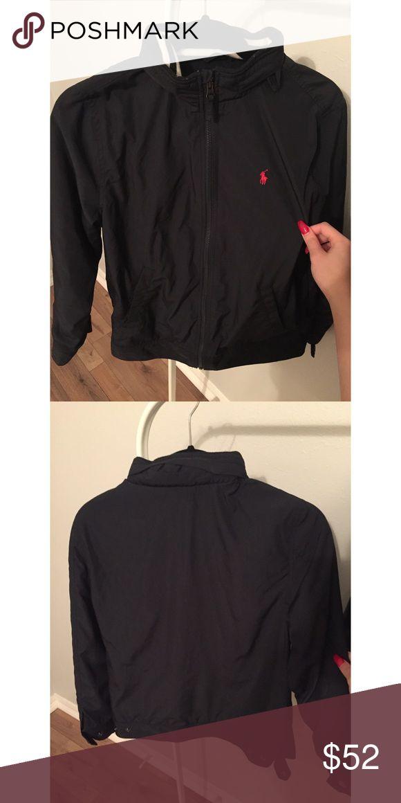 Kids Polo Jacket Kids navy polo jacket worn few times size L (14-16). Polo by Ralph Lauren Jackets & Coats