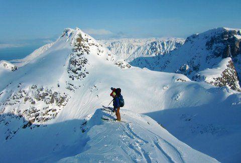 SESONGSTART: Langfjord og Finnmark byr på gode skiforhold  helt til mai måned. Alta Norway