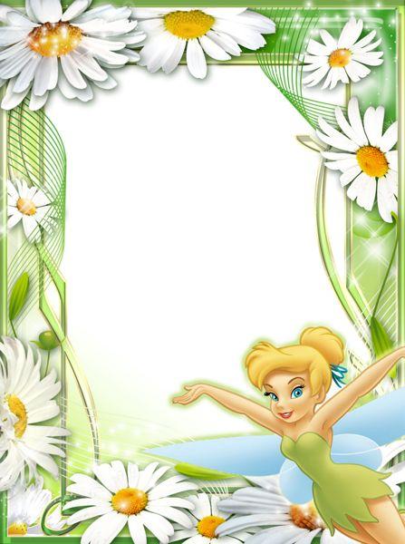 Tinkerbell Daisies Kids Transparent Frame