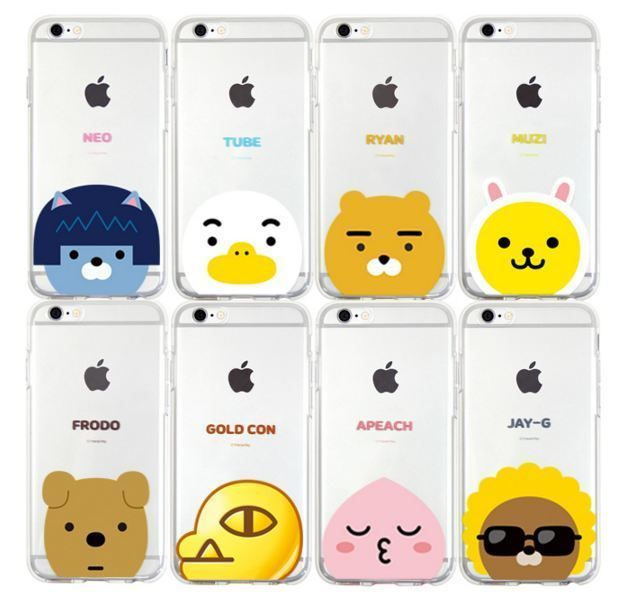 KAKAO FRIENDS POP iPhone 6/6S/Plus Cell Phone Jelly Case Cover Protector #KAKAOFRIENDS