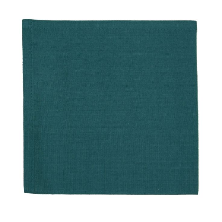 Blauwgroene tafelloper