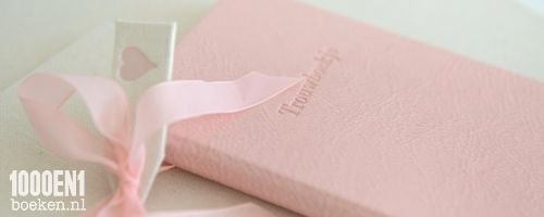 Omslag voor jouw trouwboekje in jouw kleur en jouw maat.