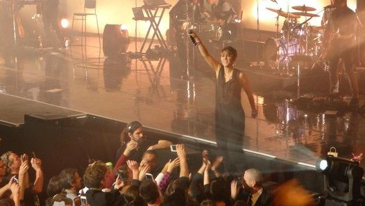 "Vidéo Zaz ""On ira"" - Concert au Phare à Chambéry le Jeudi 24 novembre 2016"