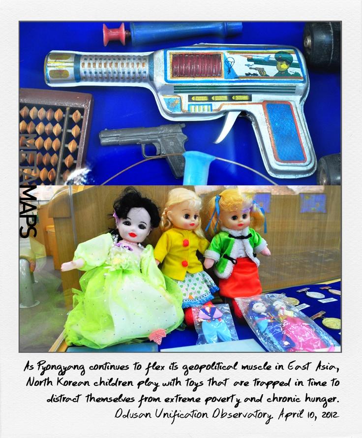 Toys of North Korean kids