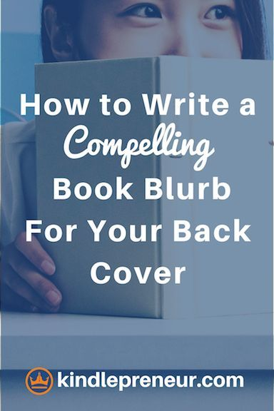 3 Steps to Writing a Back Cover Blurb That Sells