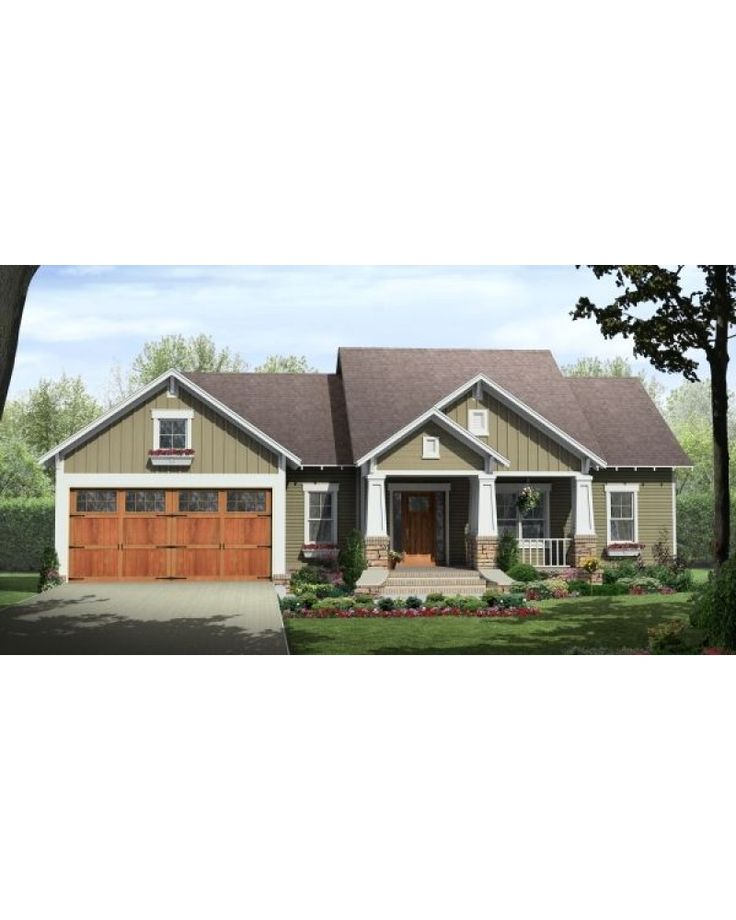 AmazingPlans.com House Plan #HPG-1604C - Country, Traditional, Craftsman This could be the one!!!!!
