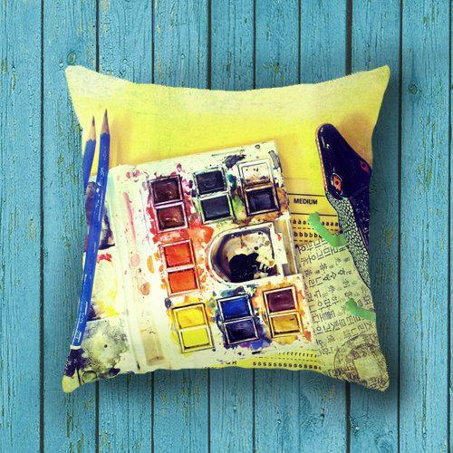 throw pillowcase kids pillow case art studio artist gift cushion cover & 15 best Art Ideas images on Pinterest   Art ideas Workshop and ... pillowsntoast.com