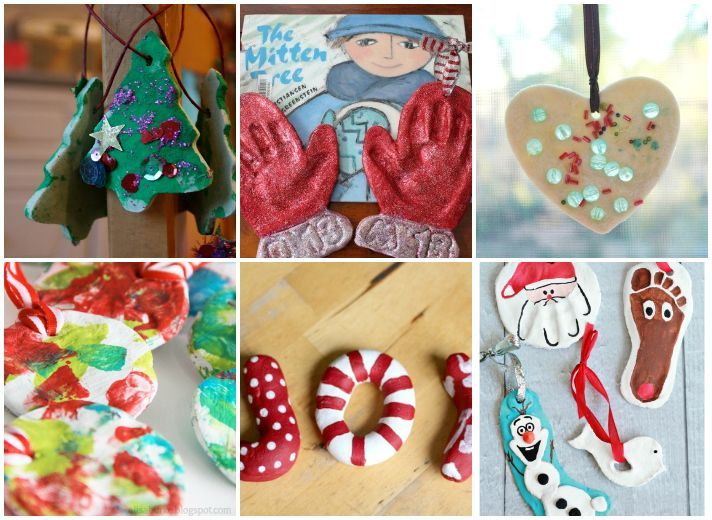 25  Easy and Fun Salt Dough Ornaments for the Holidays