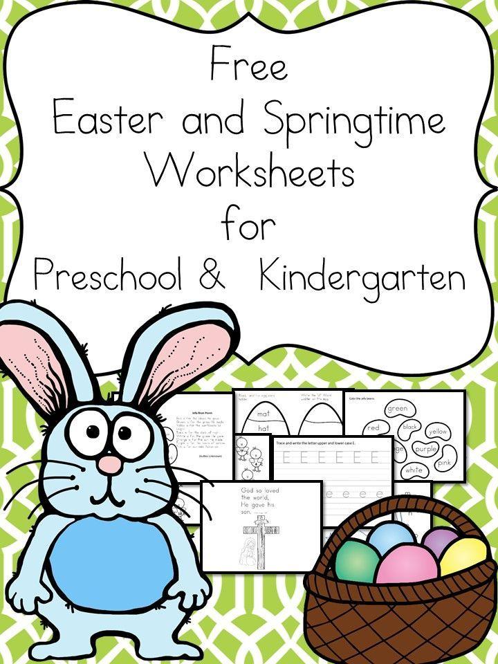 easter writing activities for kindergarten