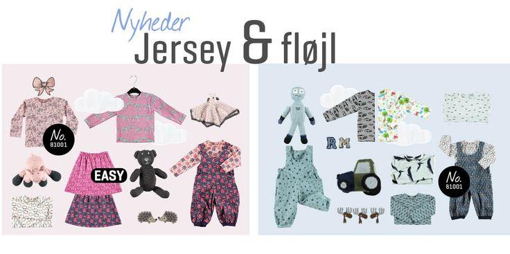 NYHEDER: Jersey & Fløjl - Stof & Stil