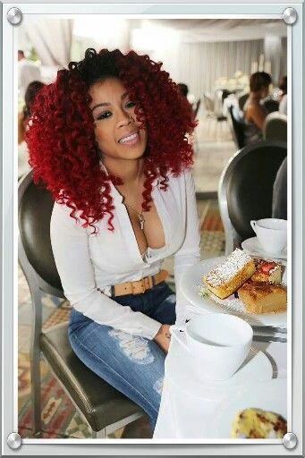 ❤️ Keyshia Cole's Hair ☼Pinterest : @uniquenaja ☼