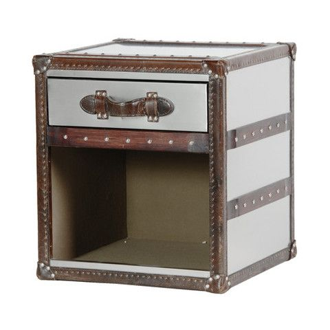 Find this Pin and more on Cowhide, Leather & Mock Croc Furniture. Trunk  Style Stainless Steel Open Side ... - 56 Best Cowhide, Leather & Mock Croc Furniture Images On Pinterest