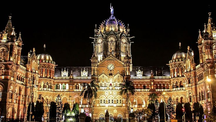 Chhatrapati Shivaji Terminus The most astounding and most beautiful structure in #Mumbai, and it becomes more #beautiful at #night.