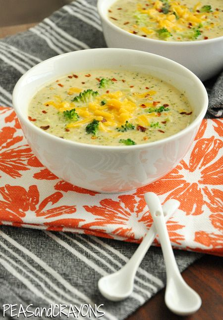 Broccoli and Cheese Soup - Panera knock-off