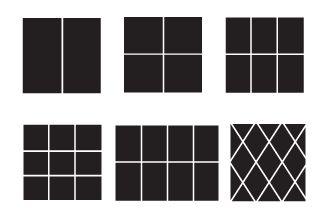 Jantek windows - options - window grids - brass grids - prarie grids - window colors