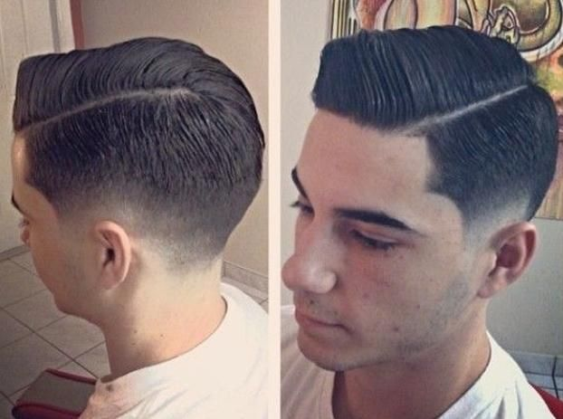 men hairstyle, new look