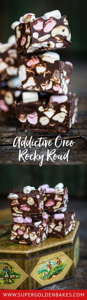 Few treats are easier to make, or more addictive, than this Oreo rocky road! The perfect recipe for getting the kids to help.