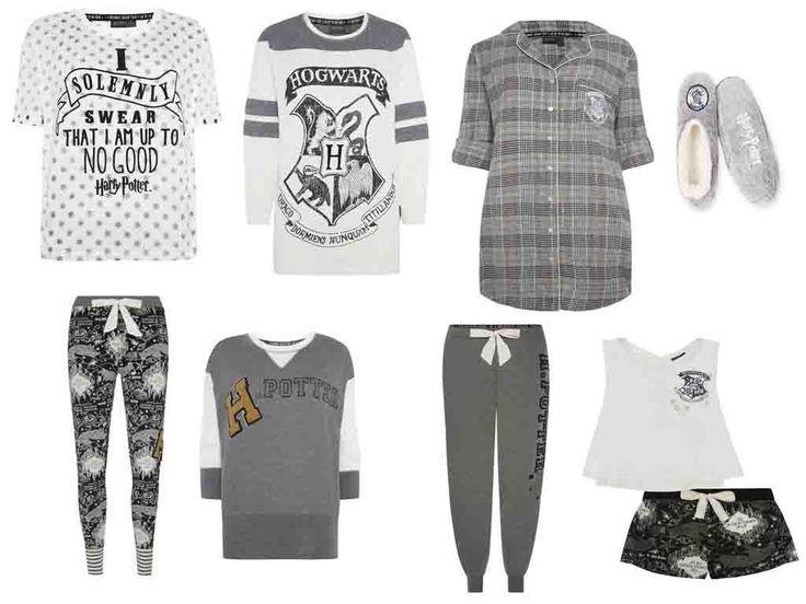 HARRY POTTER Ladies Pyjamas Primark HOGWARTS MARAUDERS MAP | eBay
