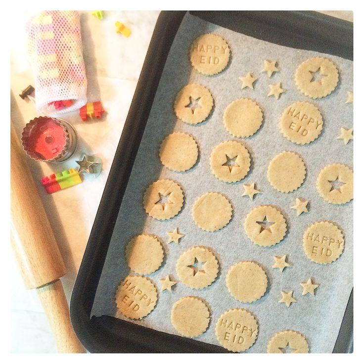 Eid Adha Mubarak Cookies made with cinnamon from Suzanne Husseini Cook Book!