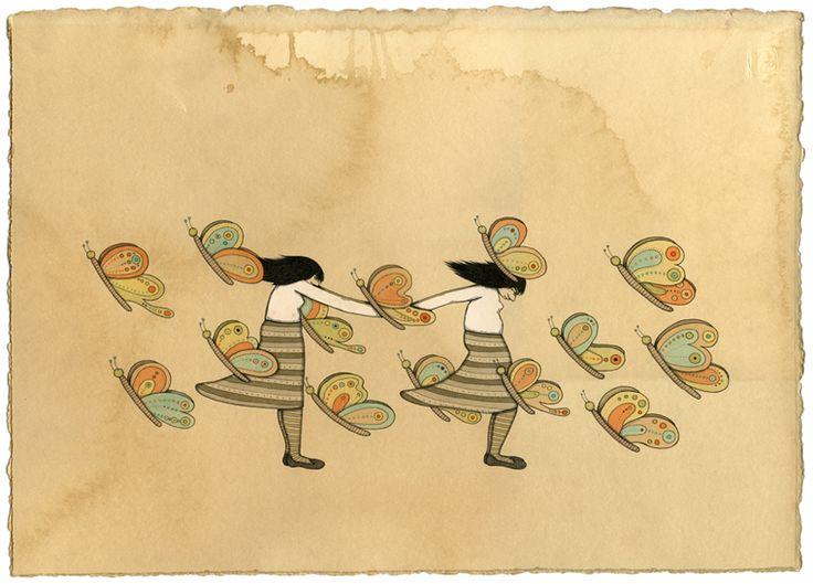 Mel Kadel drawing