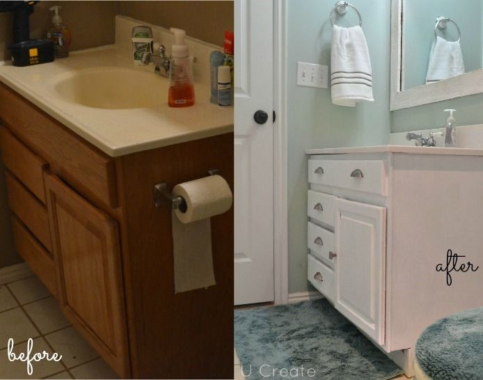 before after bathroom cabinets sw 6211 rainwashed from sherwin williams