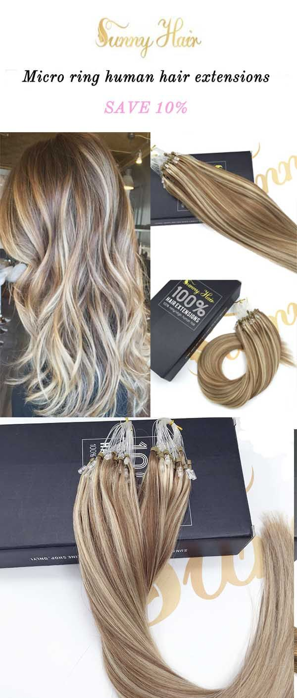 Best 25 micro ring hair extensions ideas on pinterest diy hair sunny hair brown and blonde hair piano color micro ring hair extensions tps solutioingenieria Images