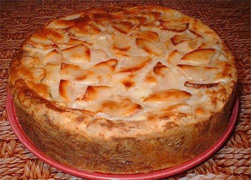 Яблочный пирог, рецепт пирога с яблоками / Простые рецепты