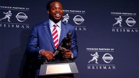 Watch the video Will Derrick Henry's Heisman Trophy win spark a running back renaissance? on Yahoo Sports . Sports Illustrated senior writer Andy Staples discusses how Alabama Crimson Tide RB Derrick Henry stood out in a crowded field to win the 2015 Heisman Trophy.