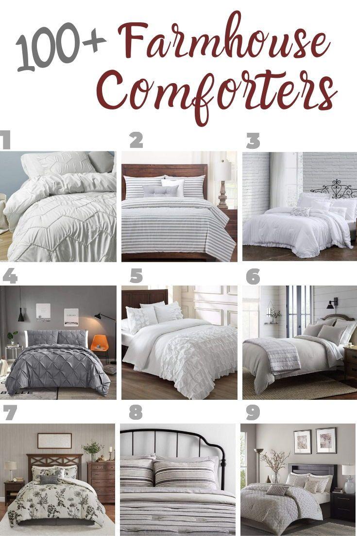 Farmhouse Comforters Rustic Comforters In 2020 Farmhouse