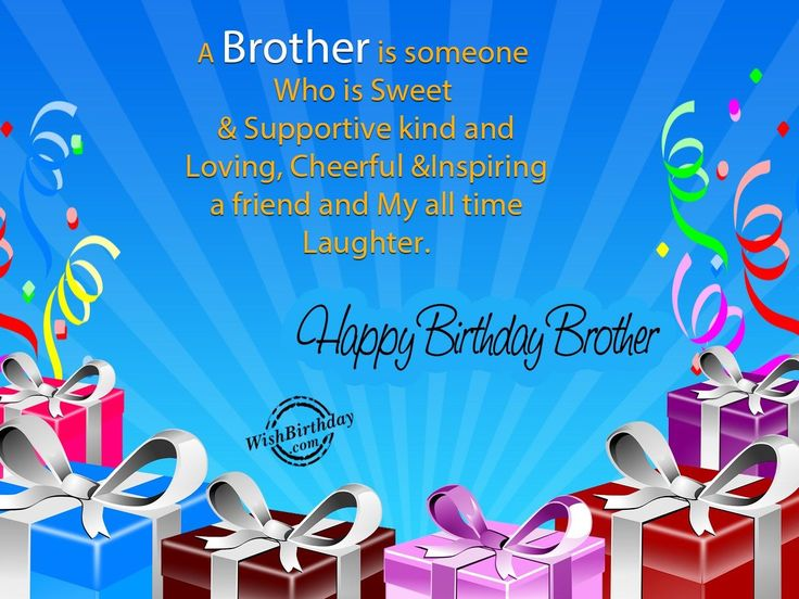 16 best Birthday wishes images – Happy Birthday Brother Cards