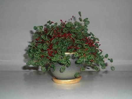 Бонсай из бисера (деревья и кусты)