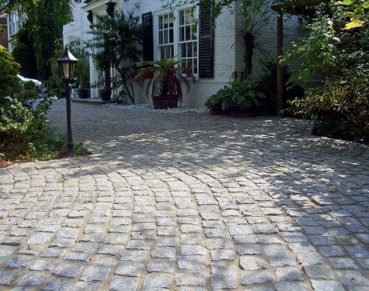revêtement de terrasse avec pavage en pierre