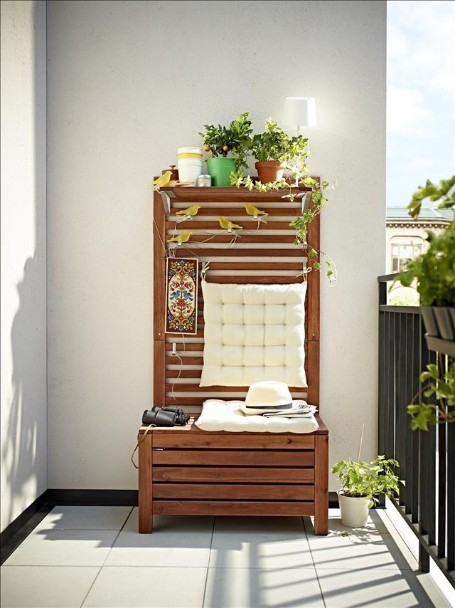 Banco de teka de ikea colección primavera verano 2014