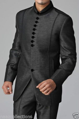 Mens SuitIndoWestern Designer Groom Wedding Blazer Trouser Tuxedo Coat Pant Suit | Roupas, calçados e acessórios, Roupas masculinas, Ternos | eBay!