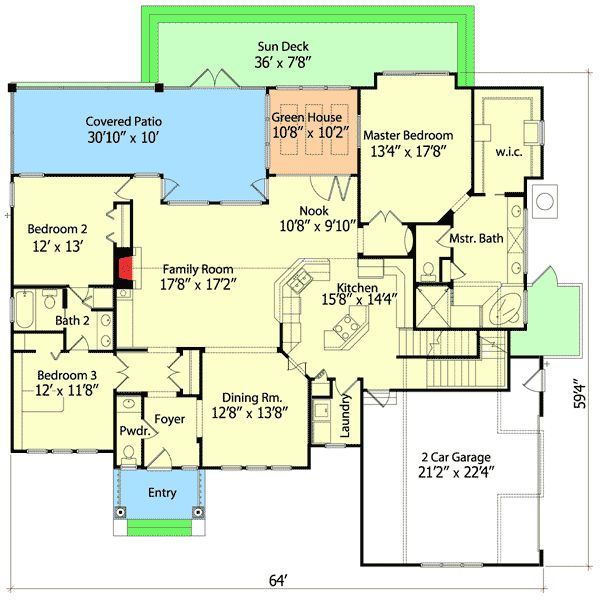 Best Little House Plan Winner - 6348HD | Country, Shingle, Traditional, 1st Floor Master Suite, Bonus Room, CAD Available, Den-Office-Library-Study, Jack & Jill Bath, MBR Sitting Area, PDF, Split Bedrooms, Corner Lot | Architectural Designs