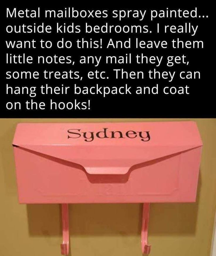 This would be great for kids during deployment. Servicemember writes letters & notes for each kid before leaving, and the parent at home places them in the mailbox! (One a week?)