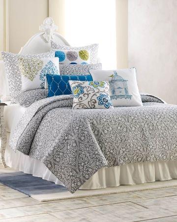 Portia Grey Quilt Stein Mart Floral Luxury Quilt