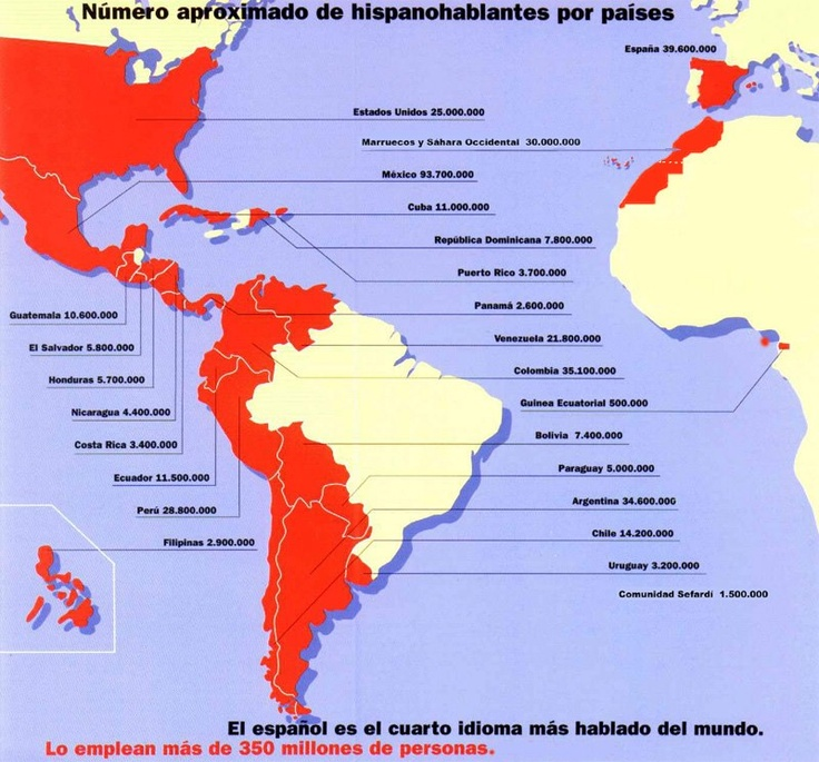 80 best Spanishspeaking countries images on Pinterest  Spanish