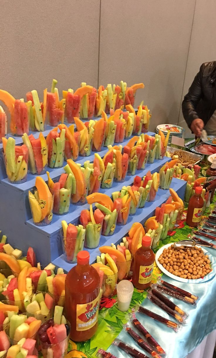 Fruit Table Mexican Birthday Parties Fiesta Birthday Party Mexican Party Theme