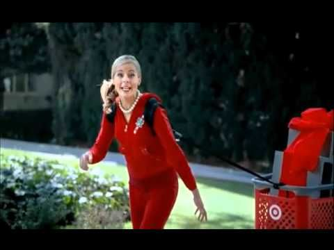 Crazy Target Lady- Preparing (2010 Commercial)