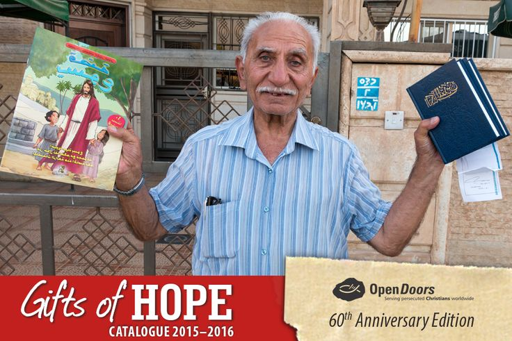 Bless a persecuted believer with a #GiftofHope this Christmas. Give a Bible. Go to our Gifts of Hope Gift of Hope Gift Catalogue where R125 will bless one believer with a #Bible, here:   #persecution #gift