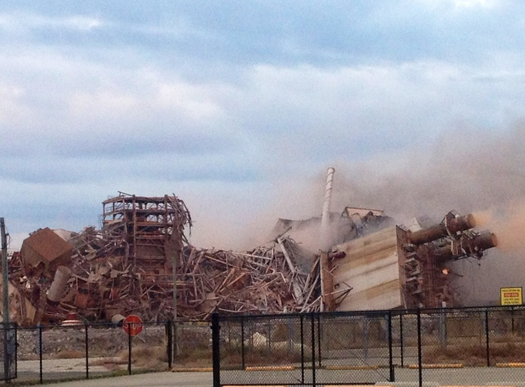 International Paper demolition~ Bastrop Louisiana~
