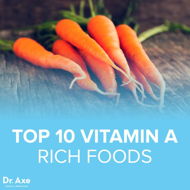 Top 10 Vitamin A Foods - Dr. Axe