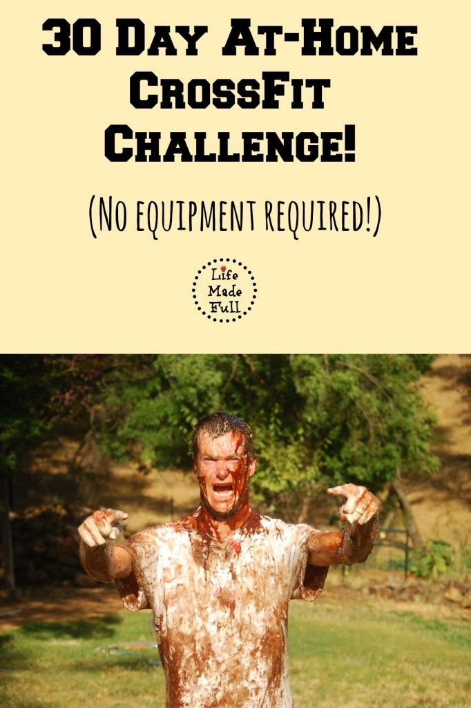 *Level 1* 30 Day At Home CrossFit Challenge Workouts - Life Made Full