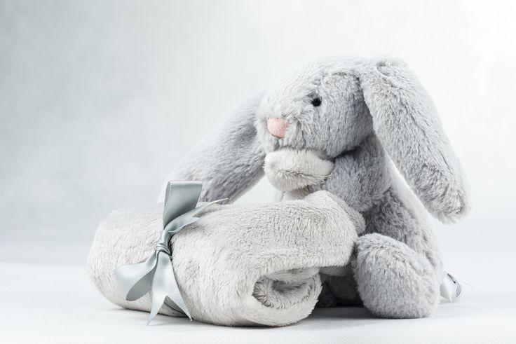 Regalos y canastillas para recién nacidos - Little Baby Born - Maletín Estrellas Rosas para niña recién nacida - Dou Dou de Jelly Cat