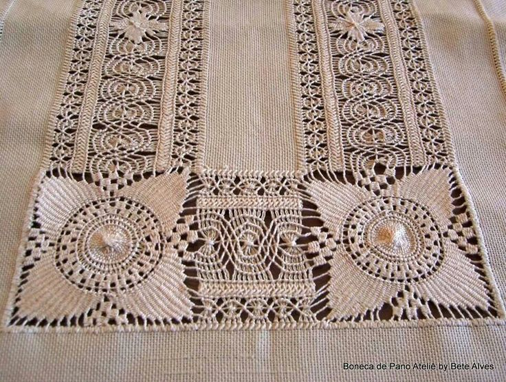 Drawn thread, needle weaving, whitework - photo [only] of an unbelievable piece of needlework
