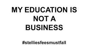 Image result for #stelliesfeesMustFall