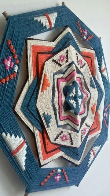Como hacer mandalas tejidas a crochet una manualidad más que perfecta para decorar nuestro hogar, aprende aquí cómo hacerlas.