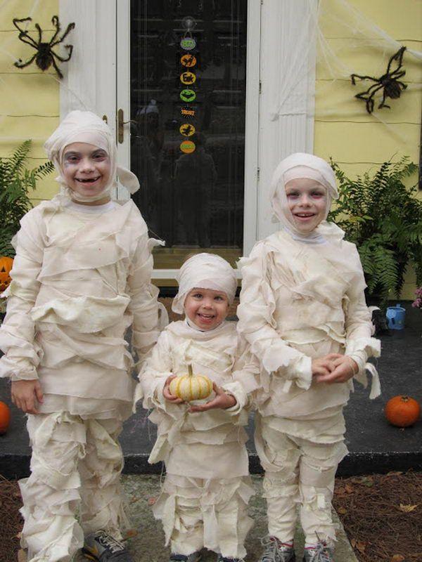50 creative homemade halloween costume ideas for kids - Quick And Easy Homemade Halloween Costumes For Kids