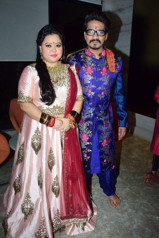 Bharti Singh & Harsh Limbachiyaa organized Mata Ki Chowki for close friends and family see pics